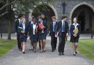 Образование в Lancing College, Англия